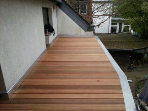 Balkon - Werdener Weg - Neu - Bankirai